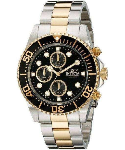 インビクタ Pro ダイバー クロノグラフ クォーツ 200 M 1772 メンズ腕時計