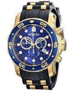 インビクタ Pro ダイバー クロノグラフ クォーツ 200 M 17882 男性用の腕時計