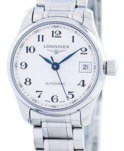 ロンジン マスター コレクション自動 L2.128.4.78.6 レディース腕時計