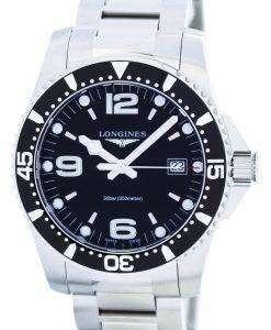 ロンジン HydroConquest 水晶パワー リザーブ L3.740.4.56.6 メンズ腕時計
