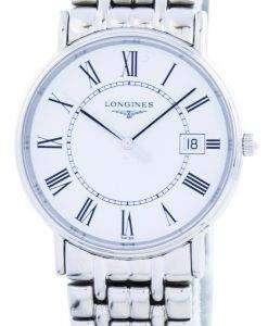 ロンジン プレゼンス ラ グランド クラシック ・ デ ・石英 L4.720.4.11.6 メンズ腕時計