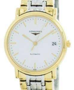 ロンジン プレゼンス自動 L4.821.2.12.7 メンズ腕時計