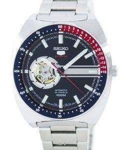 セイコー 5 スポーツ自動 24 宝石オープン ハート ダイヤル SSA327 SSA327K1 SSA327K メンズ腕時計