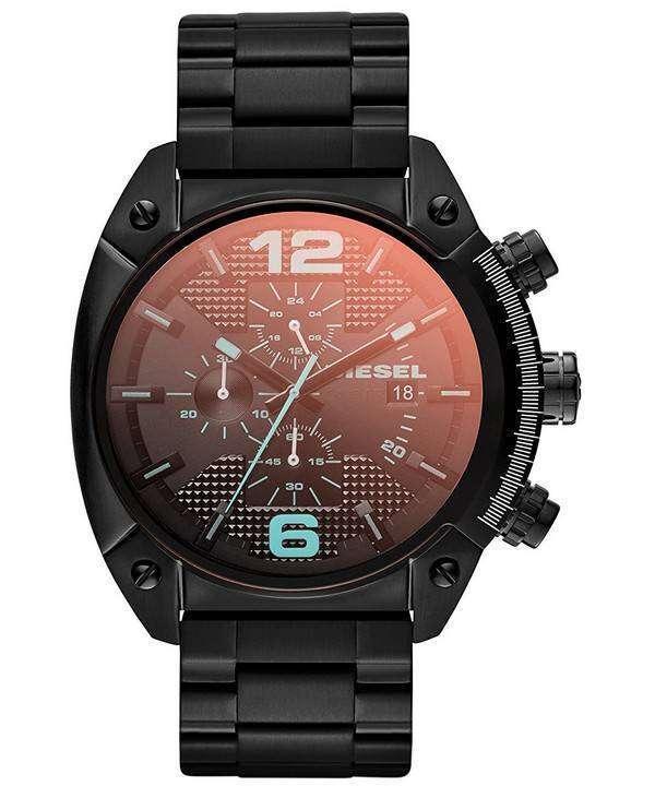 ディーゼル メガ チーフ クォーツ、クロノグラフ DZ4316 メンズ腕時計