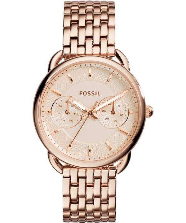 化石テーラー多機能クォーツ ES3713 レディース腕時計