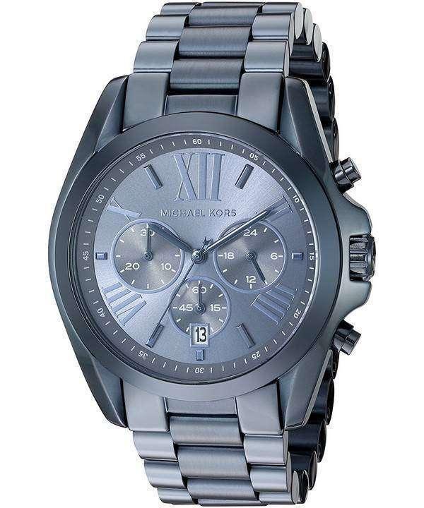 ミハエル Kors 特大ブラッド ショー クオーツ クロノグラフ MK6248 ユニセックス腕時計