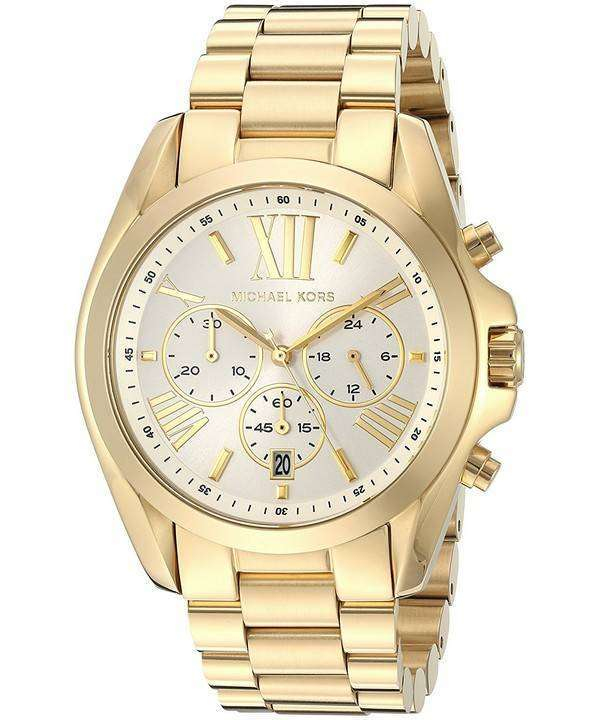 ミハエル Kors 特大ブラッド ショー クオーツ クロノグラフ MK6266 ユニセックス腕時計