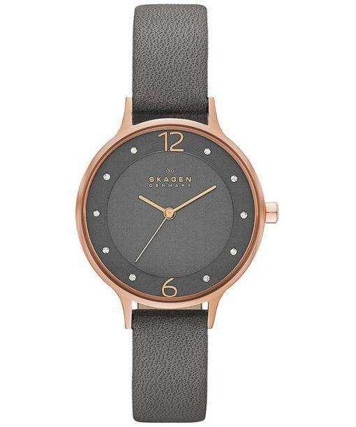 スカーゲン アニタ水晶アクセント SKW2267 レディース腕時計