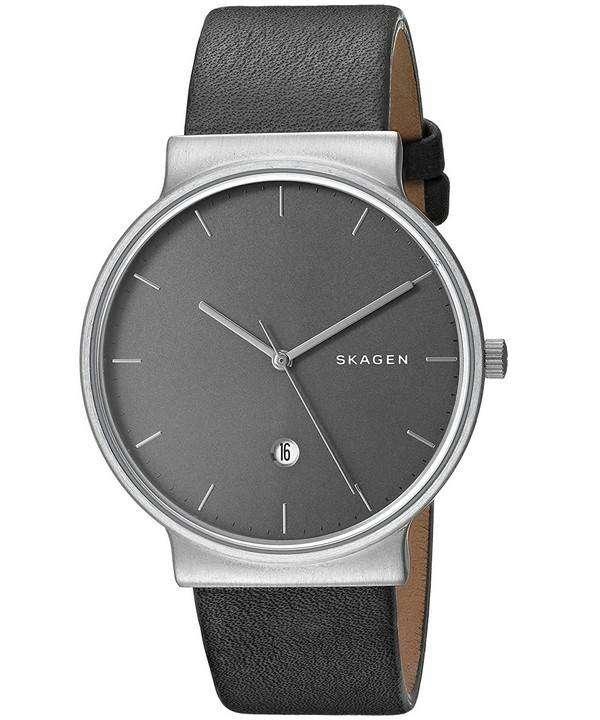 スカーゲンの支えチタン水晶 SKW6320 メンズ腕時計