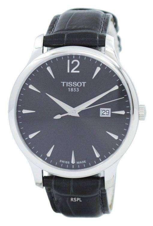 ティソ T-古典的な伝統水晶 T063.610.16.087.00 T0636101608700 レディース腕時計