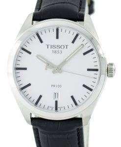 ティソ T-古典的な PR 100 石英スイス製 T101.410.16.031.00 T1014101603100 メンズ腕時計