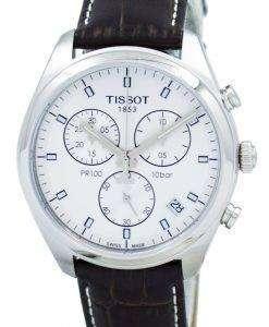 ティソ PR 100 クオーツ クロノグラフ T101.417.16.031.00 T1014171603100 メンズ腕時計