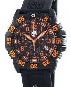 ルミノックス ネイビー シール カラーマーク クロノグラフ 3080 シリーズ スイス製 200 M XS.3089 メンズ腕時計