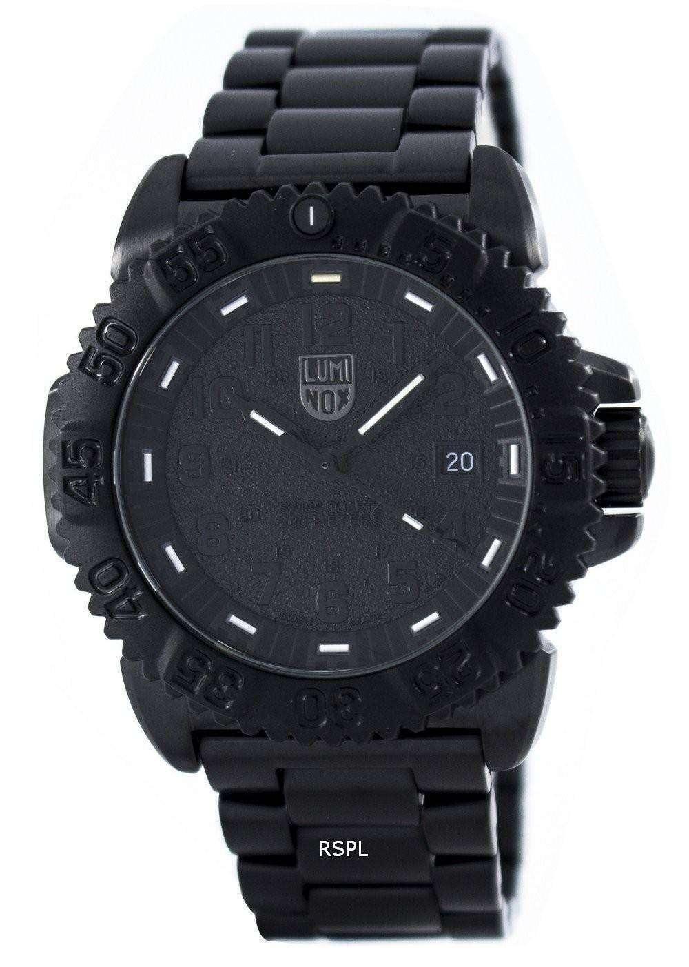 ルミノックス ネイビー シール鋼カラーマーク 3150 シリーズ スイスメイド 200 M XS.3152.BO.NV メンズ腕時計