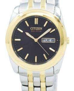 シチズンエコ ドライブ 2 トーン BM8224 51E メンズ腕時計