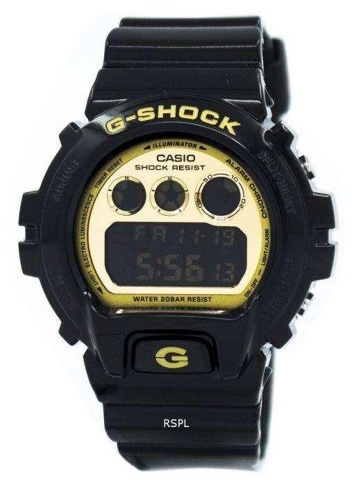 カシオ G-ショック照明ブラック & ゴールド DW-6900CB-1 メンズ腕時計腕時計