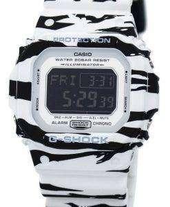 カシオ G ショック デジタル アラーム クロノ タイガー迷彩 DW D5600BW 7 メンズ腕時計