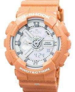 カシオ G-ショック オレンジ アナログ デジタル ジョージア-110SG-4 a メンズ腕時計