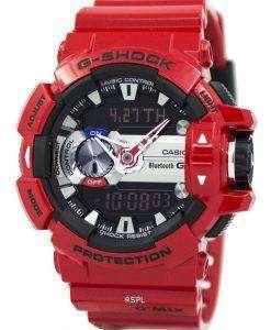 カシオ G ショック G'MIX ブルートゥース スマート世界時間アナログ デジタル GBA-400-4 a メンズ腕時計