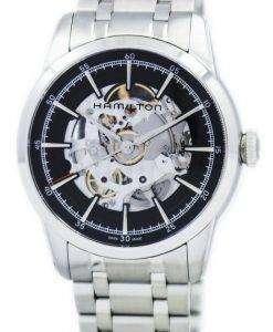 ハミルトン アメリカン クラシック レイルロード スケルトン自動 H40655131 メンズ腕時計