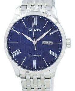 市民自動 NH8350 59 L メンズ腕時計