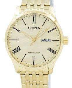 市民自動 NH8352 53 P メンズ腕時計