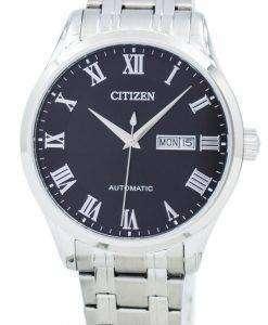 市民自動 NH8360 80E メンズ腕時計