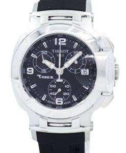 ティソ T シャツレース クオーツ クロノグラフ T048.217.17.057.00 T0482171705700 レディース腕時計