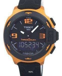 ティソ T シャツレース タッチ アナログ デジタル T081.420.97.057.03 T0814209705703 メンズ腕時計