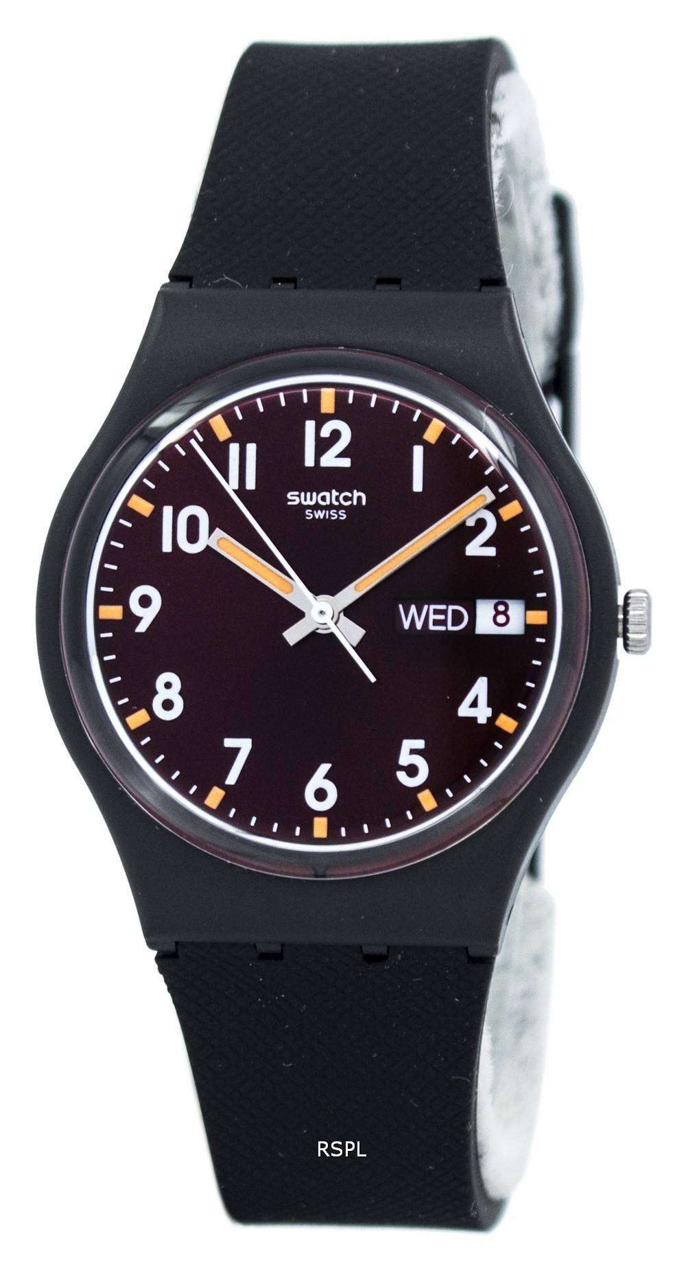スウォッチ オリジナル サー レッド クオーツ GB753 ユニセックス腕時計