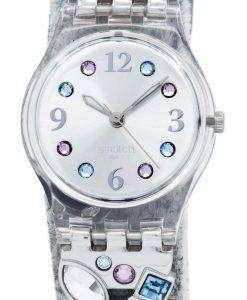 スウォッチ オリジナル メントール トーン水晶 LK292G レディース腕時計