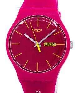 スウォッチ オリジナル ルビン反乱クオーツ SUOR704 ユニセックス腕時計