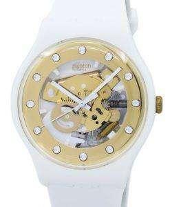 スウォッチ オリジナル サンレイ グラム クオーツ SUOZ148 ユニセックス腕時計