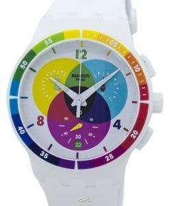 スウォッチ オリジナル Chromograph クオーツ SUSW404 ユニセックス腕時計