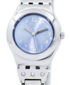 スウォッチ アイロニー花ボックス石英 YSS222G レディース腕時計