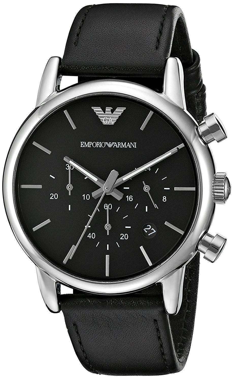 Emporio Armani Quartz Men's Watches| Classic, Formal And Trendy Look