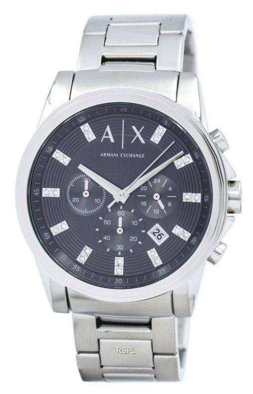アルマーニエクス チェンジ クロノグラフ結晶グレー ダイヤル AX2092 メンズ腕時計