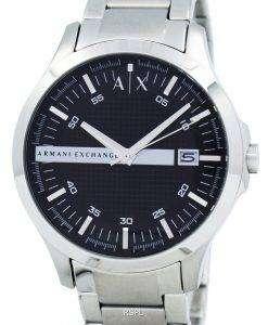 アルマーニエクス チェンジ ブラック ダイアル ステンレス鋼 AX2103 メンズ腕時計