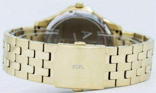 アルマーニエクス チェンジ クオーツ ブラック ダイヤル ゴールド トーン ステンレス鋼 AX2145 メンズ腕時計