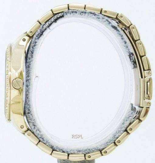 アルマーニエクス チェンジ女性ハンプトン シャンパン キルト ダイヤル結晶 AX5216 レディース腕時計