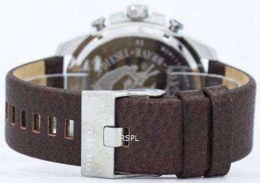 ディーゼル メガ チーフ クロノグラフ グレー ダイヤル DZ4290 メンズ腕時計