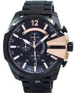 ディーゼル石英長クロノグラフ ブラック ダイヤル DZ4309 メンズ腕時計