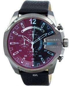 ディーゼル メガ チーフ クォーツ、クロノグラフ DZ4323 メンズ腕時計