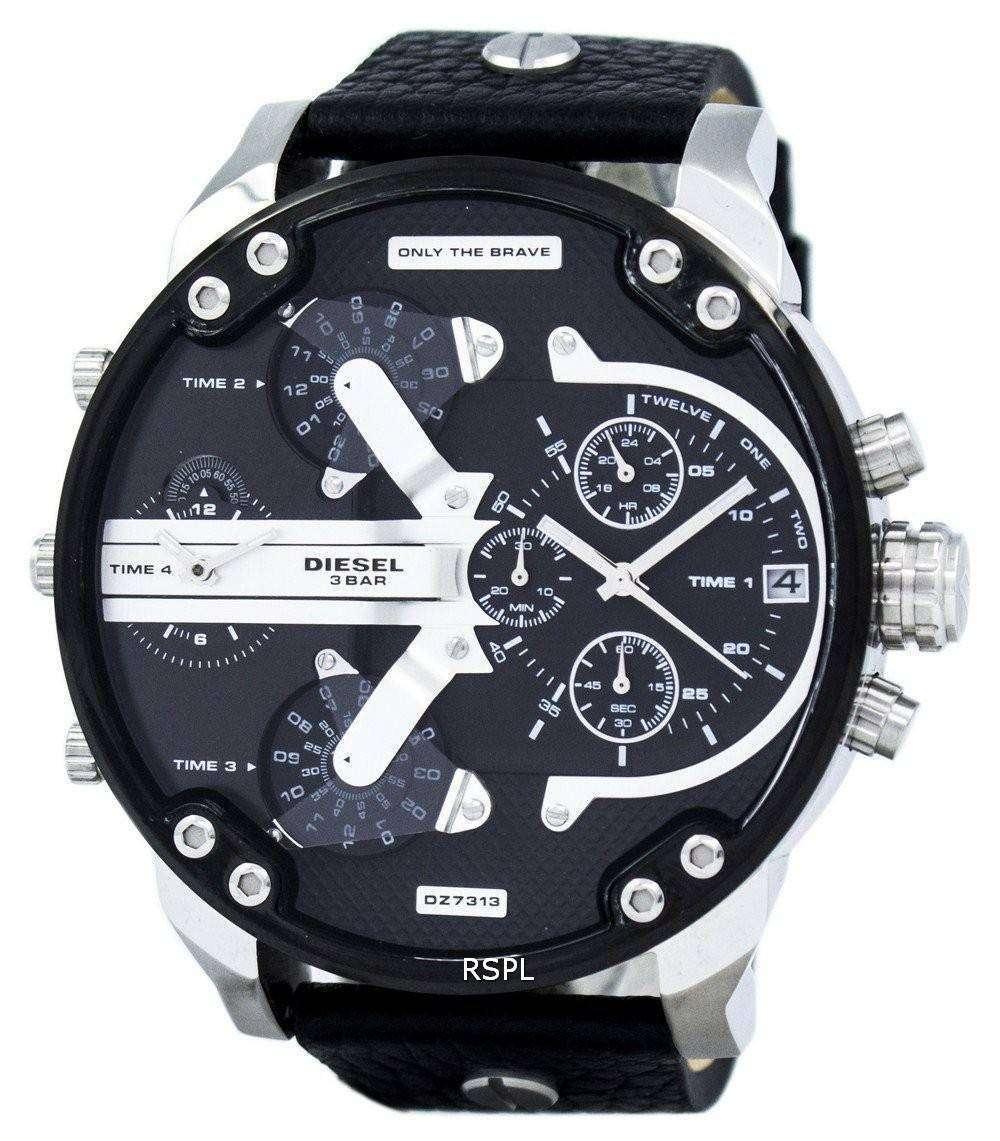 ディーゼルさんパパ 2.0 特大クロノグラフ DZ7313 メンズ腕時計