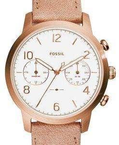 化石 Caiden 多機能デュアル タイム石英 ES4238 レディース腕時計