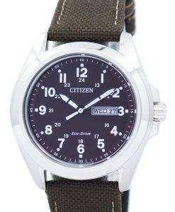 市民エコドライブ AW0050 40 w メンズ腕時計