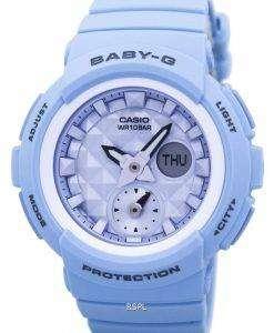 カシオベビー-G 耐衝撃性世界時間アナログ デジタル 2 a BGA 190BE レディース腕時計