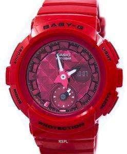 カシオベビー-G の衝撃耐性世界時間アナログ デジタル BGA-195 M-4 a レディース腕時計