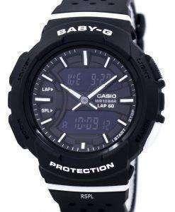 カシオベビー-G の耐衝撃性のデュアル タイム アナログ デジタル BGA 240 1A1 レディース腕時計