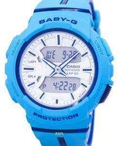 カシオベビー-G の耐衝撃性のデュアル タイム アナログ デジタル BGA 240 L-2 a 2 レディース腕時計